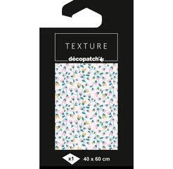 **NIEUW **Texture hotfoil Decopatch papier