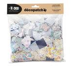 Decopatch papier Maxi pack 11 000 vierkantjes 3x3 cm