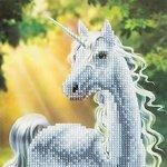 Crystal Card kit diamond painting Sunshine Unicorn 18 x 18 cm