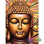 Full 5D Diamond Painting Buddha kleuren 40 x 50 cm