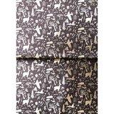 Paperpatch decoupagepapier Wreaths black FSC mix_