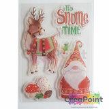 It's snome time Transparante stempelset Snome time - Craft Consortium_