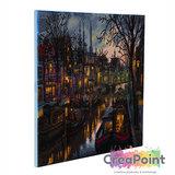Crystal Art kit Canal Life 40 x 50 cm full diamond painting_