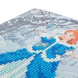 Crystal Card kit diamond painting Enchanted Princess 18 x 18 cm
