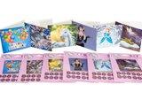 Crystal Card kit diamond painting Robin 18 x 18 cm