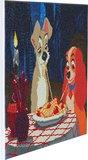 Crystal Art kit Disney Lady & The Tramp (full) 40 x 50 cm