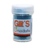 Glitters blauw_