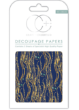 Decoupage papier Blue Decal - Craft Consortium_