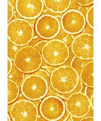 Decopatch papier oranje sinasappelschijven OP=OP