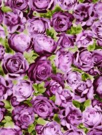 Decopatch papier rozen oudroze*