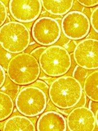 Decopatch papier oranje sinasappelschijven*