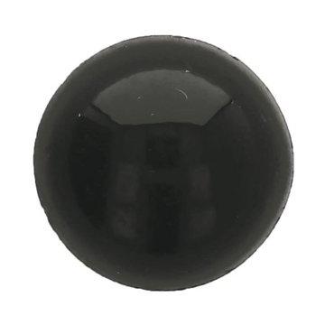 Dierenogen - veiligheidsogen 8 mm zwart