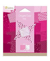 Origami Mini 12x12cm - ROZE met motief