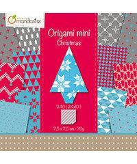 Origami Mini, Christmas - 7,5 x 7,5 cm. met motief