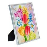 Crystal Art kit Beautifull Bouquet 21 x 25 cm