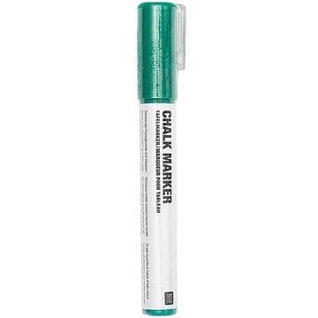 Chalk marker Krijtstift vloeibaar Donkergroen