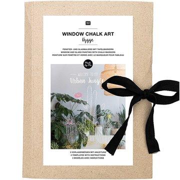 Window Chalk Art Templates 3 delig Hygge FSC Mix