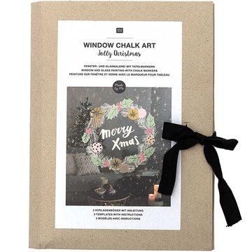 Window Chalk Art Templates 3-delig Jolly Christmas FSC Mix