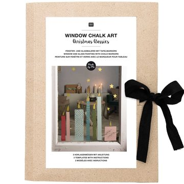 Window Chalk Art Templates 3-delig Christmas Classics FSC Mix