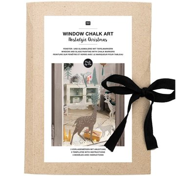Window Chalk Art Templates 3-delig Nostalgic Christmas FSC Mix