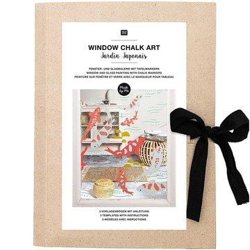 Window Chalk Art Templates 3-delig Jardin Japonais FSC Mix