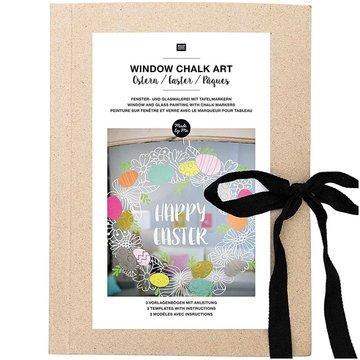 Window Chalk Art Templates 3-delig Easter FSC Mix