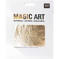 RICO DESIGN MAGIC ART BLADMETAAL GOUD 6 VELLEN