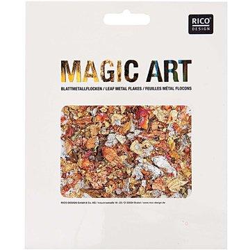 RICO DESIGN MAGIC ART BLADMETAALVLOKKEN METALMIX 2GR