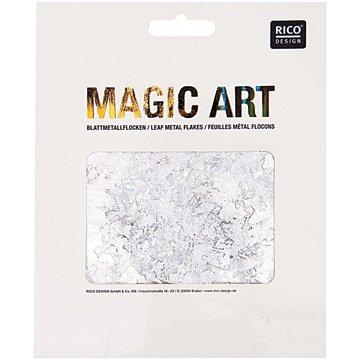 RICO DESIGN MAGIC ART BLADMETAALVLOKKEN ZILVER 1GR
