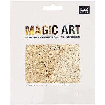 RICO DESIGN MAGIC ART BLADMETAALVLOKKEN GOUD 2GR