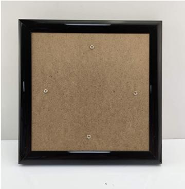 Crystal Art Frame 18 x 18 cm Zwart