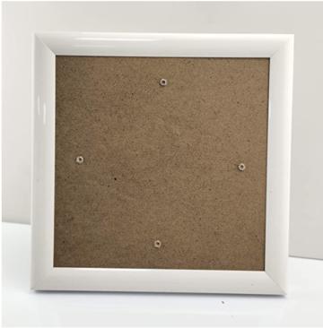 Crystal Art Frame 18 x 18 cm Wit