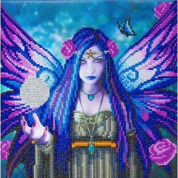Crystal Art kit ® Anne Stokes Mystic Aura 30 x 30 cm partial diamond painting