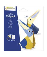 My little Origami, Konijn, 12x12cm, 20+1 blad