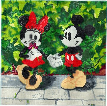 Crystal Art kit Disney Minnie and Mickey (full) 30 x 30 cm