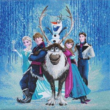 Crystal Art kit Disney Frozen Friends (partial) 70 x 70 cm