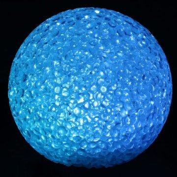 LED LICHTBAL 8CM MULTI