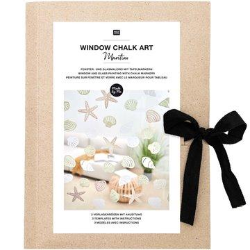 Window Chalk Art Templates 3-delig Maritime FSC Mix