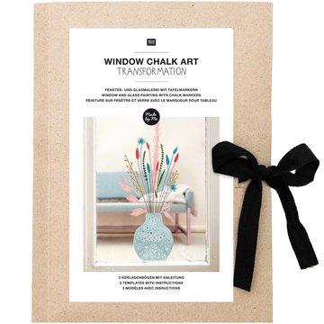 Window Chalk Art Templates 3-delig Transformation FSC Mix