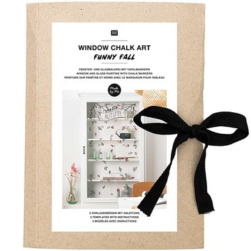 Window Chalk Art Templates 3-delig Funny Fall FSC Mix