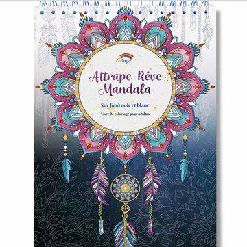 Colorya kleurboek v. volwassenen Dromenvangers Mandala-stijl A4 spiraalgebonden