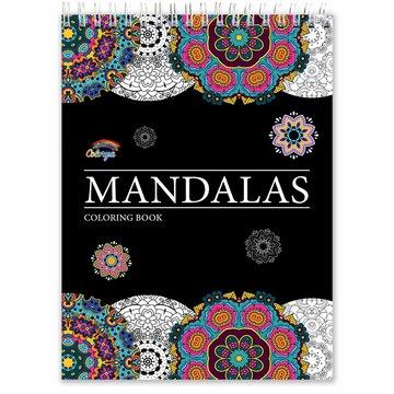 Colorya kleurboek v. volwassenen Mandalas A4 spiraalgebonden