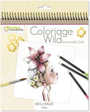 Coloriage Wild Colouring Book deel 1 by Emmanuelle Colin spiraal gebonden