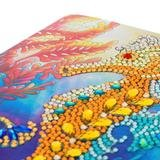 Crystal Card kit diamond painting Seahorse 18 x 18 cm