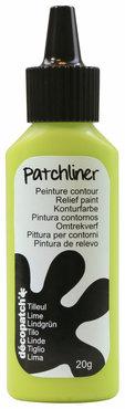 Patchliner Lime (lichtgroen)