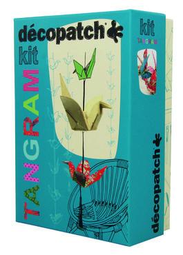 Decopatch Tangram Kit origami vogel