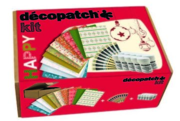 Decopatch Happy Kit kerst