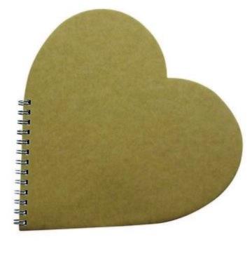 Gastenboek hart