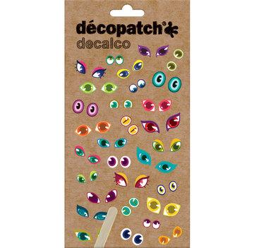 NIEUW Decalco Transfer stickers Ogen 2