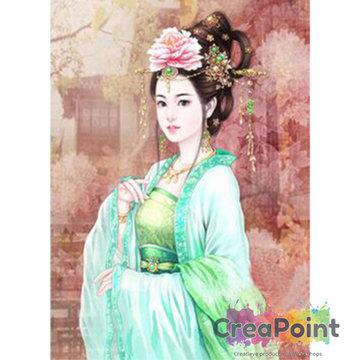 Full 5D Diamond Painting Klassieke Schoonheid 30 x 40 cm